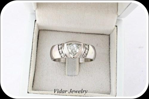 Medium Of Diamond Wedding Rings
