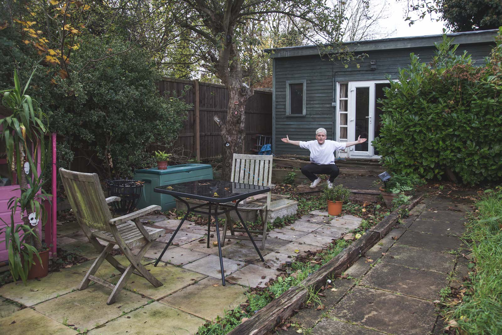 Coffee Shop With Garden Near Me I Made My Shed The Top Rated Restaurant On Tripadvisor Vice