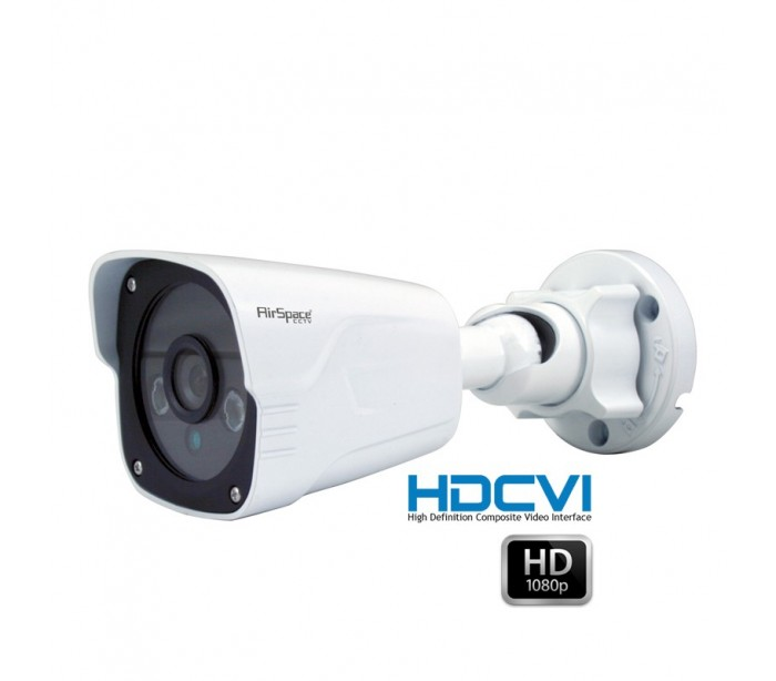 Camera Surveillance Exterieur Pro Camera Hd 1080p Focale 2.8mm Ir 30 M
