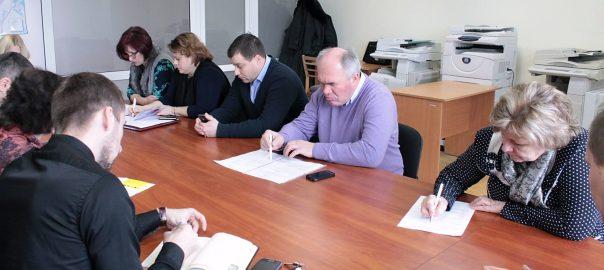 """засідання бюджетної комісії щодо парку """"Перемога"""""""