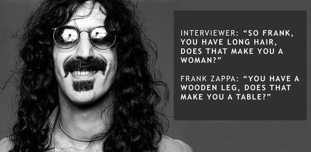 Videological wednesday tune stevies spanking frank zappa