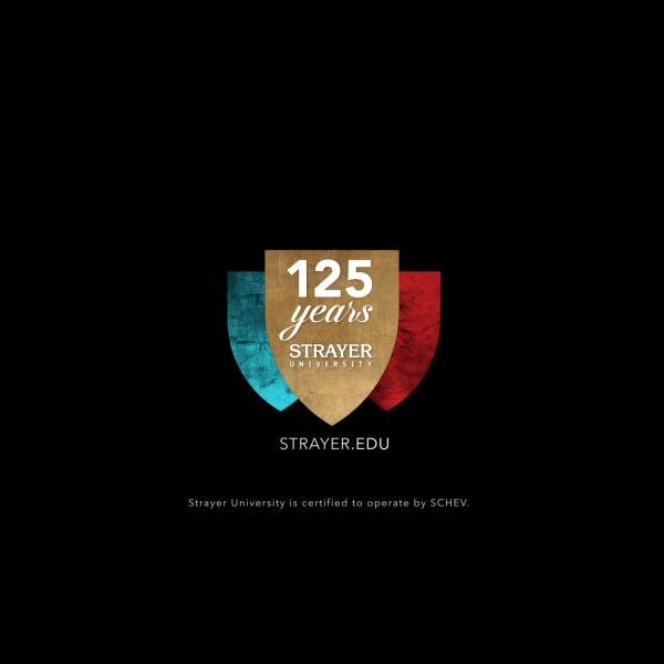 125th Anniversary Strayer University \u2013 kate bateman design