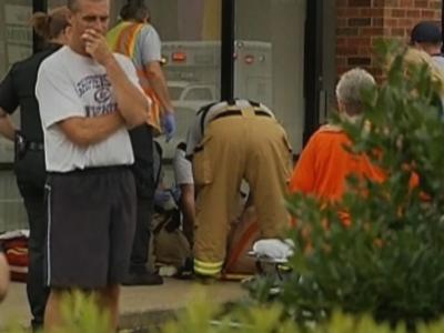 NC gunman shot after wounding 4 at law firm, Walmart