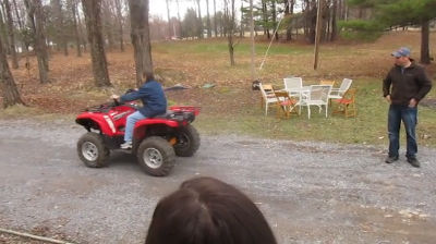 Mom's 4 Wheelin It Outta Here