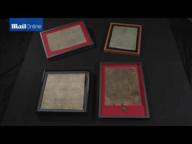 Sandwich Magna Carta Copy found