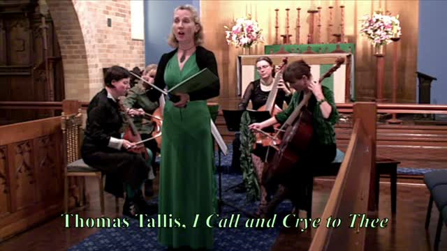 Thomas Tallis: I Call & Crye to Thee