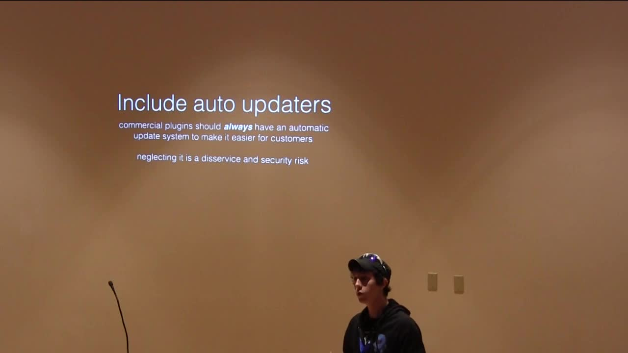 Pippin Williamson: Sane Plugin Updates and Releases