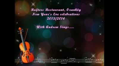 New Year's Eve 2013-2014 at Rafters with Andrew Sings…..