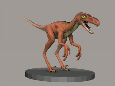 Creative Rendition: Bambiraptor