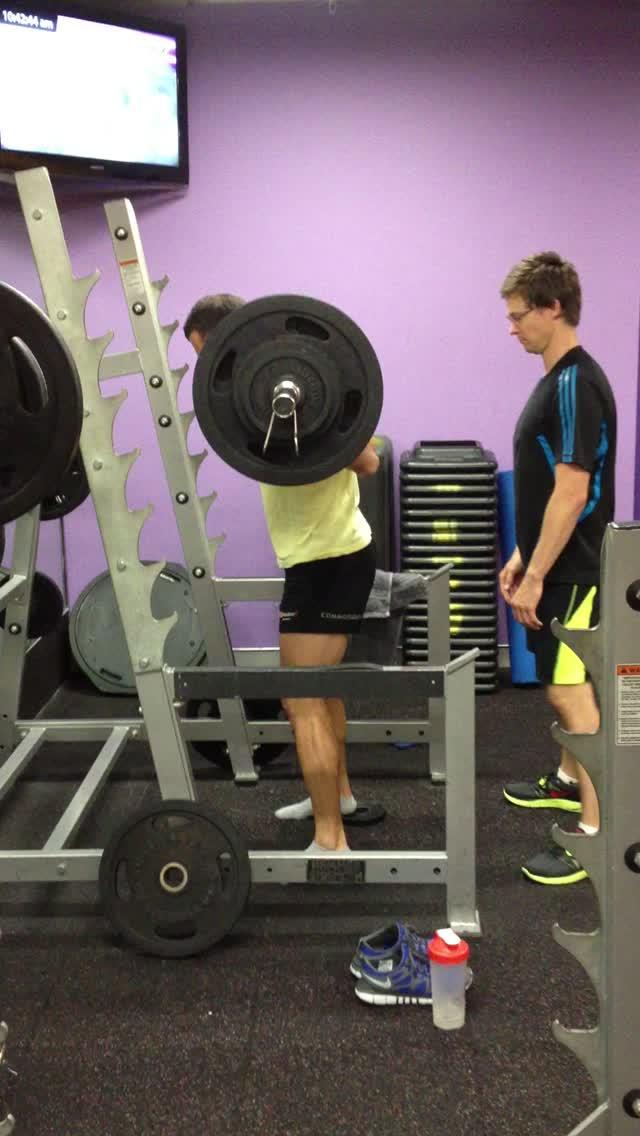155kg squat