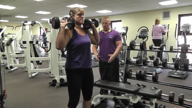 Week 2 – How to do a Squat Shoulder Press