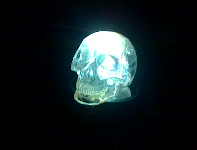 Illuminated Crystal Skull