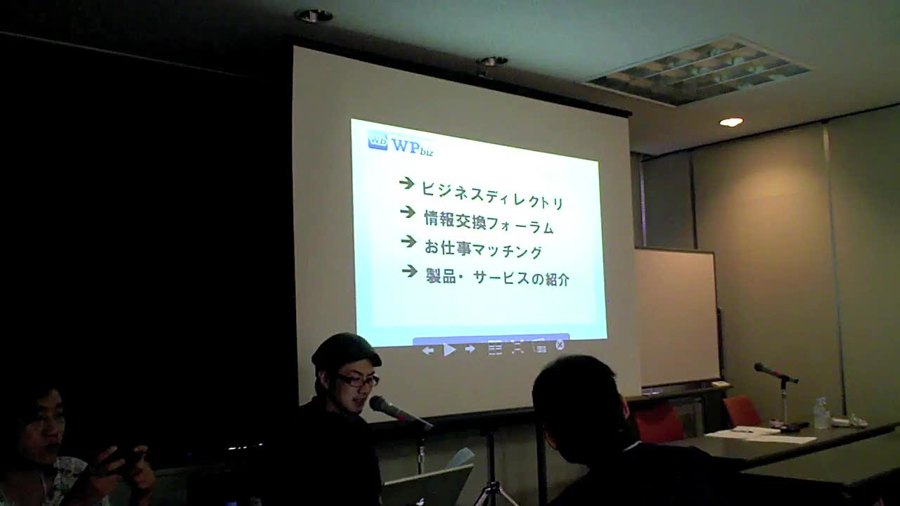 WordCamp Kyoto 2009: Introducing WPBiz (Day 1)