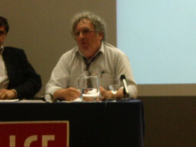 Benny Morris under fire at LSE, 14th June.
