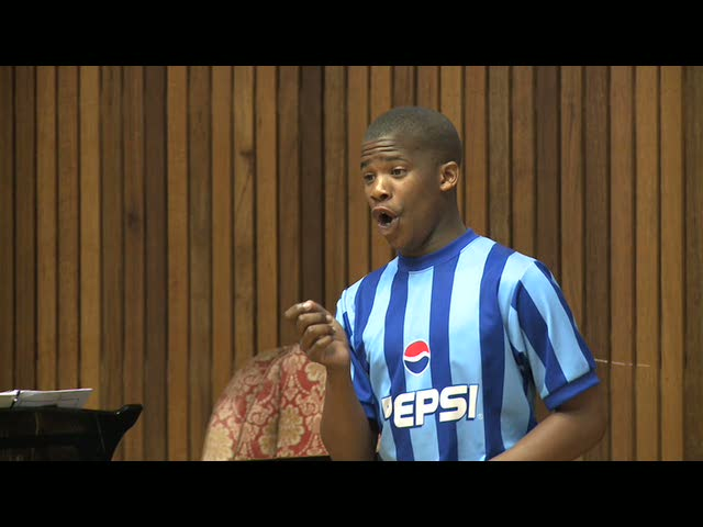 SINGING FOR LIFE- Thami audition