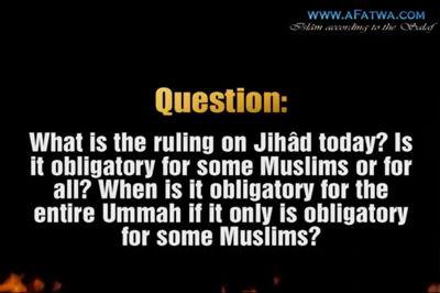 Is Jihâd Fardh 'Ayn (obligatory upon everyone) – Imâm Muhammad bin Sâlih bin ´Uthaymîn