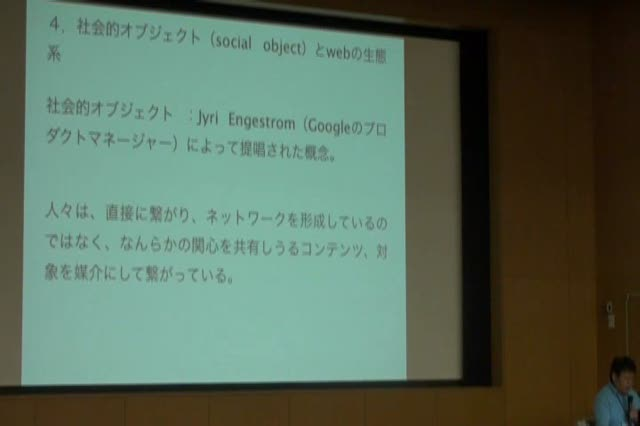 Naoki Ueno (Professor, Tokyo City University): Social Media Network