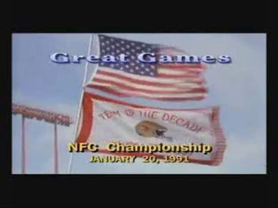 Lawrence Taylor w/ 1990 NFC Championship Retrospective
