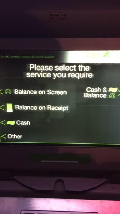 CashZone: annoying CashMachine menu system