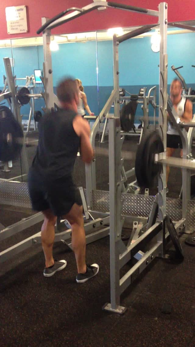 Zercher good mornings 80kg