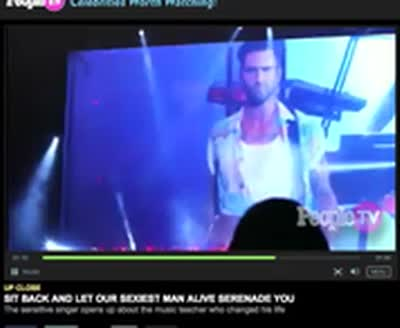 Adam Levine People Magazine Video 1