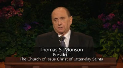 As We Gather Once Again – Thomas S. Monson