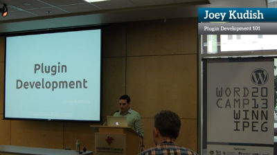 Joey Kudish: Plugin Development 101