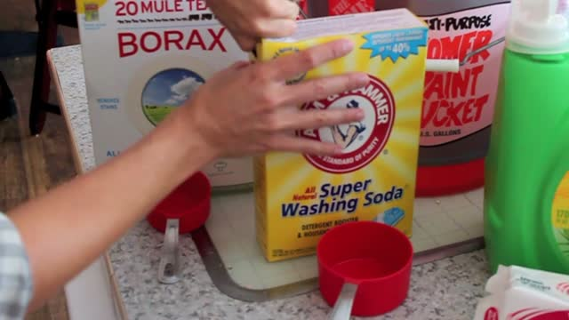 How To Make Laundry Detergent and Save $$$