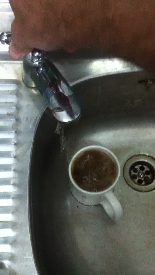 Instant coffee…on tap