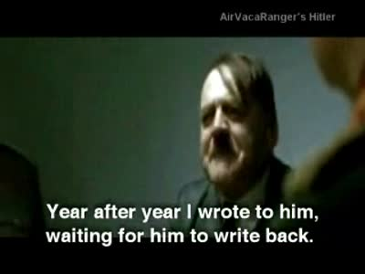 Hitler finds out the truth about Santa