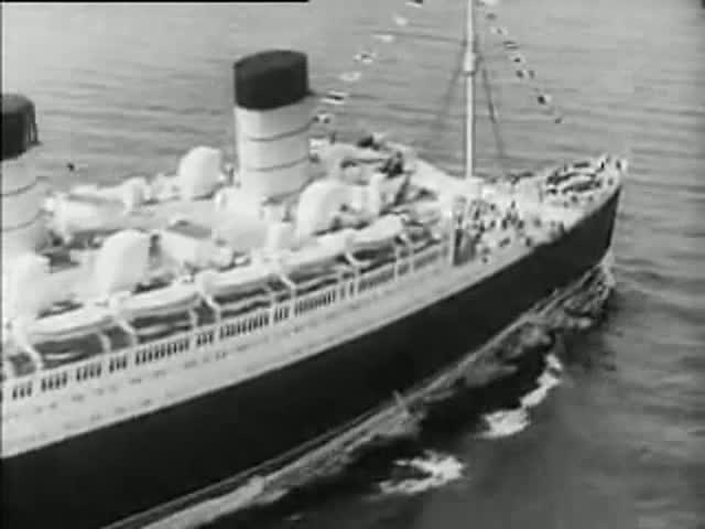 RMS Queen Mary Christening