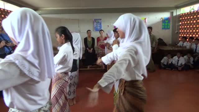 School Girls Dance