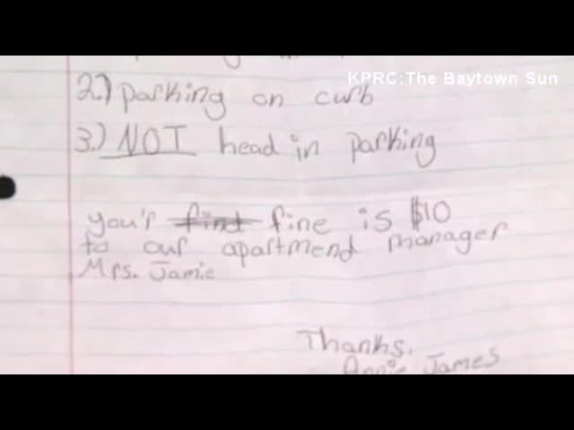 Teen Gives Cop A Parking Ticket