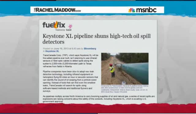 KEYSTONE XL PIPELINE COULD END UP CUTTING U.S. IN TWO WITH CREEK OF PERMANENT, OILY, TOXIC GOO