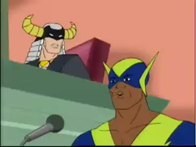 Harvey Birdman Apache Chief a Personal Injury