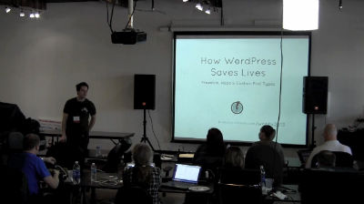 Paul Clark: How WordPress Saves Lives – Freedom, Hope and Custom Post Types