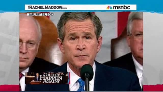 BUSH LIED AND SENT TROOPS TO DIE IN IRAQ