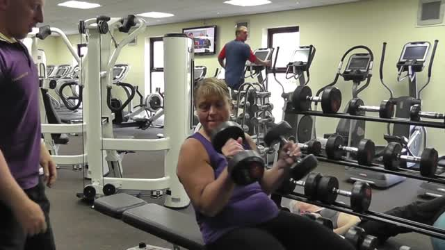 Week 1 – How to do a Dumbbell Chest Press
