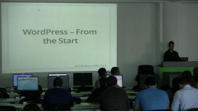 Stanko Metodiev: WordPress – From the Start
