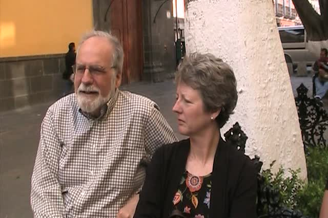 Anna's parents talk about safety and security in Puebla