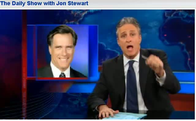 Comedy Central The Daily Show Jon Stewart Herman Cain Has a Dream Job 12-14-11
