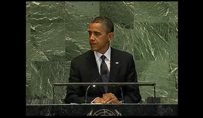 THE UNITED NATIONS – President Obama's Speech 09-25-12
