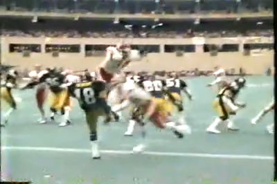 86 Steelers v Chiefs blocked punt TD