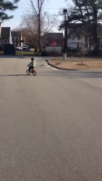 evan on a bike