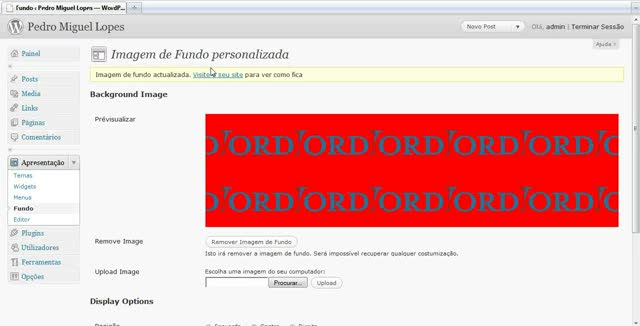 Adicionar Fundos Personalizados no WordPress 3.0