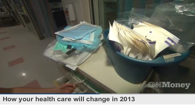 HEALTHCARE CHANGES FOR 2013