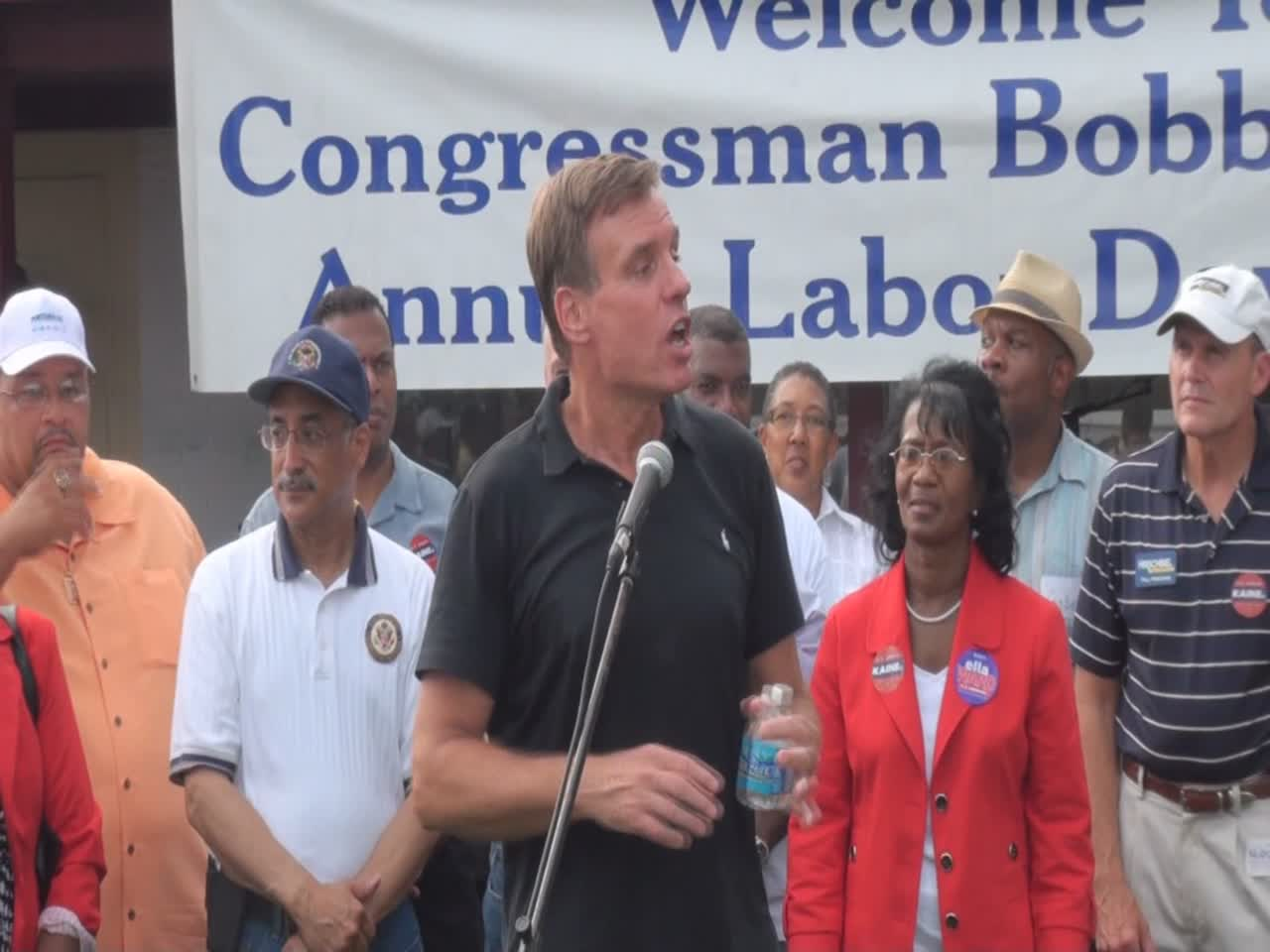 Mark Warner Labor Day 2012