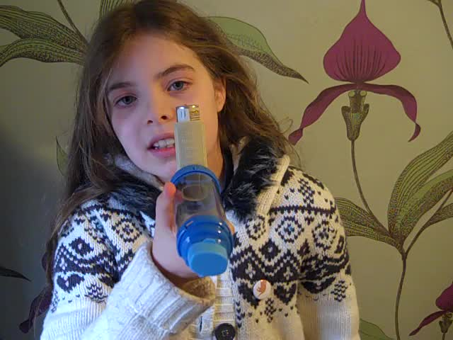 Nell, 11, talks asthma &amp; air pollution