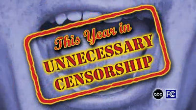 This Year in Unnecessary Censorship 2012