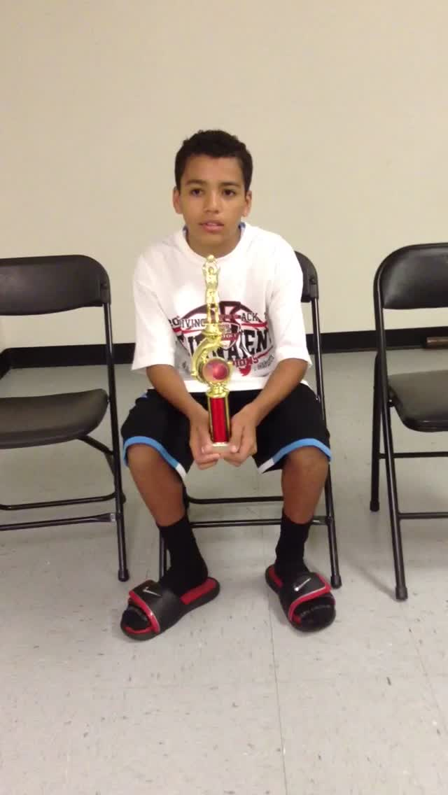 12u/6th Grade Most Valuable Player – Pierce Sterling – Riverside Matrix